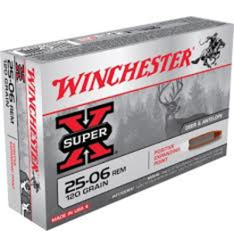 WINCHESTER WINCHESTER SUPER-X 25-06 REM 120GR 20 RDS