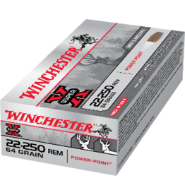 WINCHESTER WINCHESTER SUPER-X 22-250 64GR POWER POINT 20 RDS