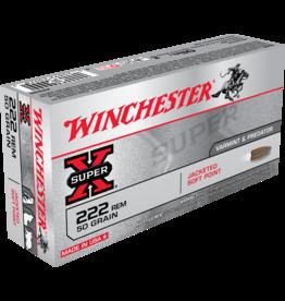 WINCHESTER WINCHESTER SUPER-X 222 REM 50GR 20 RDS
