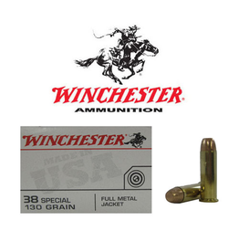 WINCHESTER WINCHESTER 38 SPECIAL 130GR FMJ 50 RDS