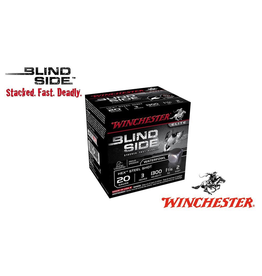 """WINCHESTER WINCHESTER BLIND SIDE 20GA 3"""" #2 - 1 1/16OZ 25 RDS"""