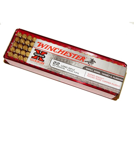 WINCHESTER WINCHESTER 22 LR SUPERSPEED 40 GR COPPER PLATED