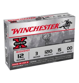 "WINCHESTER WINCHESTER SUPER-X 12GA 3"" - 00 BUCKSHOT 5 RDS"