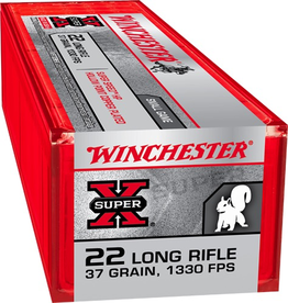 WINCHESTER WINCHESTER SUPER-X PLATED HP 22 LR 37GR 100 RDS