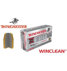 WINCHESTER WINCHESTER SUPER-X 9MM LUGER WINCLEAN 50 RDS