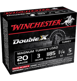 """WINCHESTER WINCHESTER DOUBLE X MAGNUM LOAD 20 GA #5 - 3"""" 10 RDS"""