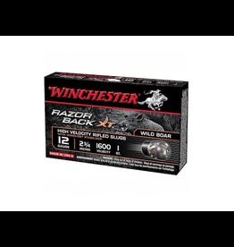 """WINCHESTER WINCHESTER RAZOR BACK 12GA 2 3/4"""" - 5 RDS"""
