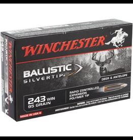 WINCHESTER WINCHESTER BALLISTIC SILVERTIP 243 WIN 95GR 20 RDS