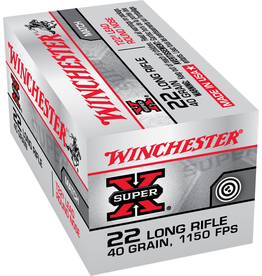 WINCHESTER WINCHESTER SUPER X 22 LONG RIFLE 40 GR 50 RDS