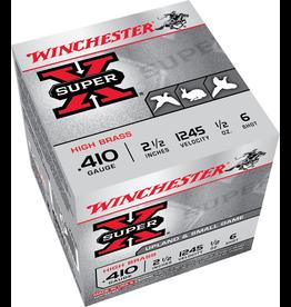 """WINCHESTER WINCHESTER SUPER-X 410GA 2 1/2"""" #6 25 RDS"""