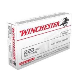 WINCHESTER WINCHESTER 223 REM 55GR FMJ 500 RDS