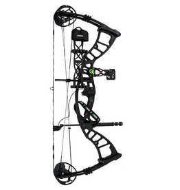 HOYT ARCHERY 2016 HOYT POWERMAX PKG 5-PIN SIGHT LEFT HAND 50# (#2 24-25) BLACKOUT CW