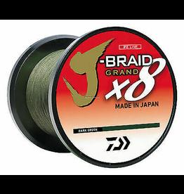 DAIWA J-BRAID GRAND X8 40LB 3000YDS