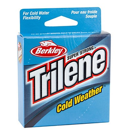 BERKLEY BERKLEY TRILENE COLD WEATHER ELECTRIC BLUE 6LB 110YD