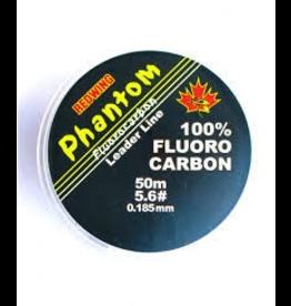 REDWING REDWING PHANTOM 100% FLUROCARBON LEADER LINE 4.4# 50M