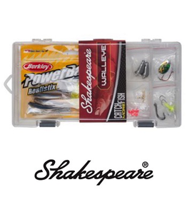 SHAKESPEARE WALLEYE TACKLE  BOX KIT