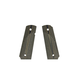PACHMAYR PACHMAYR G10 TACTICAL 1911 GREEN/ BLACK CHECKER HANDGUN GRIP