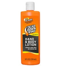 DEAD DOWN WIND DEAD DOWN WIND HAND & BODY LOTION 8 FL OZ UNSCENTED