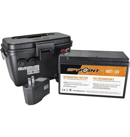SPYPOINT SPYPOINT KIT 12V RECHARGEABLE  BATTERY, CHARGER & HOUSING KIT