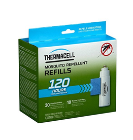 THERMACELL THERMACELL MOSQUITO AREA REPELLENT REFILLS 10 BUTANE AND 30 MATS