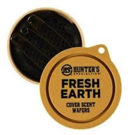HUNTER'S SPECIALTIES COVER SCENT WAFERS FRESH EARTH 3PK