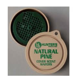 HUNTER'S SPECIALTIES COVER SCENT WAFERS NATURAL PINE
