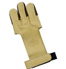 OCTOBER MOUNTAIN PRODUCTS OMP TRADITIONAL SHOOTERS GLOVE TAN/LEATHER XL