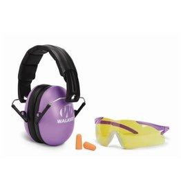 WALKER'S WALKER'S YOUTH & WOMEN'S COMBO KIT EYE/ EAR PROTECTION