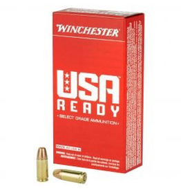 WINCHESTER WINCHESTER USA 9MM LUGER 115GR 50 RDS