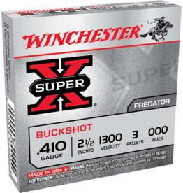 "WINCHESTER WINCHESTER SUPER-X 410GA 2 1/2"" - 000 BUCKSHOT 5 RDS"