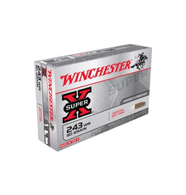 WINCHESTER WINCHESTER SUPER-X 243 80GR SOFT POINT 20 RDS