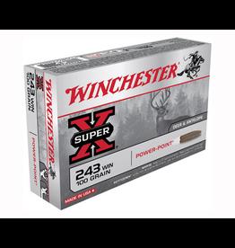 WINCHESTER WINCHESTER SUPER-X 243 WIN 100GR 20 RDS