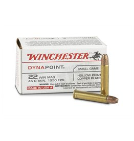WINCHESTER WINCHESTER DYNA POINT 22 WMR 45GR 50 RDS