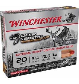 "WINCHESTER WINCHESTER DEER SEASON XP COPPER 20GA 2 3/4"" - 5 RDS"