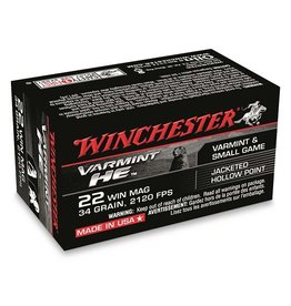 WINCHESTER WINCHESTER VARMINT HE 22 WIN MAG 34GR 50 RDS