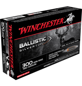 WINCHESTER WINCHESTER BALLISTIC SILVERTIP 300 WIN MAG 180GR 20 RDS