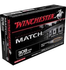 WINCHESTER WINCHESTER MATCH 308 WIN 168GR 20 RDS