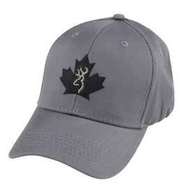 BROWNING BROWNING MAPLE LEAF CHARCOAL HAT