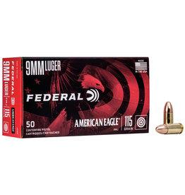 Federal FEDERAL AMERICAN EAGLE 9MM LUGER 115GR FMJ
