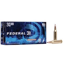 Federal FEDERAL AMMUNITION 243 WIN 100GR SP