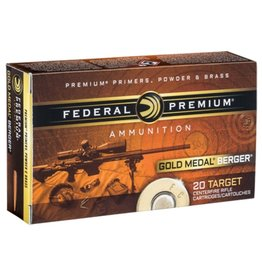Federal FEDERAL GOLD MEDAL BERGER 308 WIN 185 GR 20 RDS