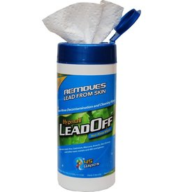 LEADOFF HYGENALL LEADOFF NON-RINSE WIPES 45 WIPES PER CANISTER