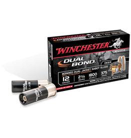 "WINCHESTER WINCHESTER DUAL BOND SABOT SLUG 12GA 375GR 2 3/4"" - 5 RDS"