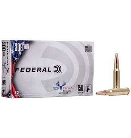 Federal FEDERAL NON TYPICAL WHITETAIL SOFT POINT 308 WIN 150GR 20RDS