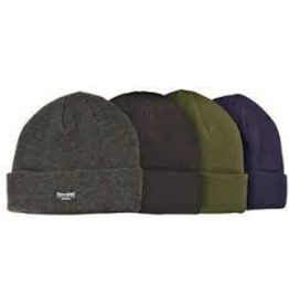 MISTY MOUNTAIN MISTY MOUNTAIN ACRYLIC THINSULATE TOQUE-CHARCOAL-ONE SIZE