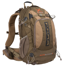 ALPS ALPS PURSUIT X COYOTE BROWN BACKPACK