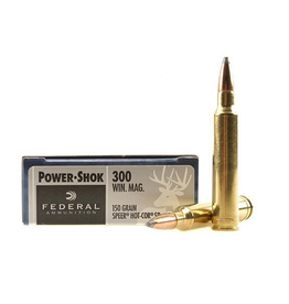 Federal FEDERAL 300 WIN MAG 150GR SP POWER-SHOK