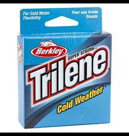 BERKLEY BERKLEY TRILENE COLD WEATHER ELECTRIC BLUE 4LB 110YD