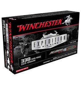 WINCHESTER WINCHESTER EXPEDITION BIG GAME 338 WIN MAG 225 GR