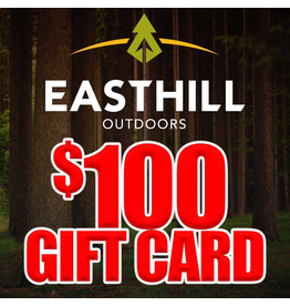EASTHILL OUTDOORS EASTHILL OUTDOORS $100 GIFT CARD